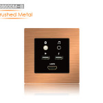 HD8600M-Metal Brushed-Light Golden